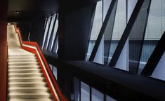 Athletic Club of Bilbao is one of the big clubs in European football and its previous stadium, over a hundred years old, was one of the legendary. Bilbao, San Mamés, Metal Facade, Cladding, Stairs, Architecture, Gallery, Places, Pictures