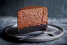 Double Chocolate Mousse Cake / Delicious