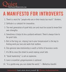 A Manifesto For Introvets.