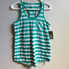 NWT Stripe Tank Brand new with attached tags. ⚡Will not be priced lower. ❌No offers❌ Tops Tank Tops