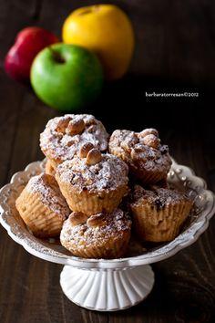 muffin mela, cannella, mandorle ... il tempo delle mele