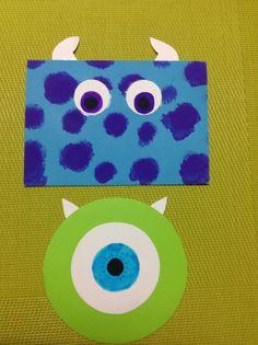 Tarjetas de Invitación Monster! #GabyDesing