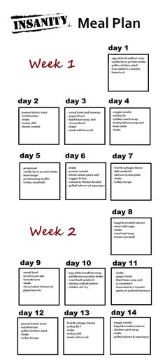 One Week 21 Day Fix Meal Plan Meals, 21st and Clean eating - meal plans