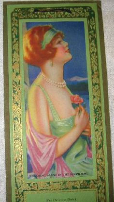 icollect247.com Online Vintage Antiques and Collectables - Art Deco 1929 Calendar Advertising Buick Cars & Shell Gas