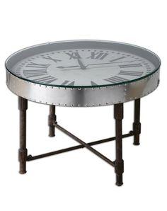 Unique Cassem Clock Table / Home Comfort #vintage #interior