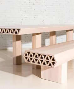 fort standard has reinterpreted natural elements for the 'qualities of material' series at collective design fair during new york design week 2016.