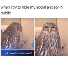 me honestly, once I walked into my phis ed. class, then walked out casually..? kind of, because the guy that was there who is one of my best friends wasn't there and no one else I knew was too, and I got scared and kinda cried haha
