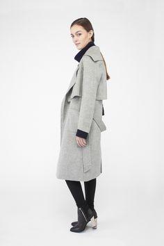 JL001 MutebyJL 2016 Handmade Cashmere coat