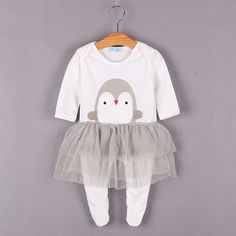 HE Hello Enjoy newborn baby girls clothes 2017 infant clothing casual cartoon baby rompers boys long. Click visit to buy