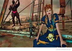 bette frank new york lofficiel nl fashion08 Bette Franke is Sci Fi Chic in L'Officiel Netherlands September Cover Story