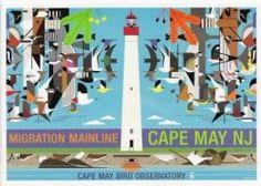 Charley Harper poster Migration Mainline