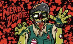 Zombie Nerd Costume Tutorial for Kids Nerd Halloween Costumes, Warm Bodies, Zombie Walk, Costume Tutorial, Cultura Pop, Horror, Joker, Entertaining, Kids