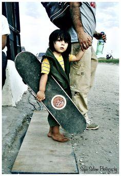 Baby Skater by Sofía Salom, via Flickr