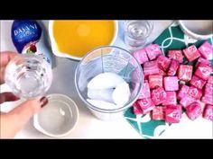Lightened Up Pink Starburst Cocktail - Happy Food, Healthy Life