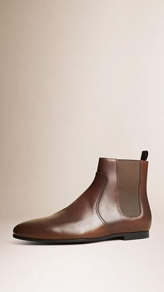Peppercorn Leather Chelsea Boots - Image 1