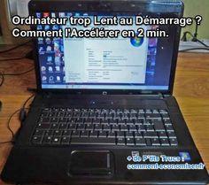 le truc pour accélérer le démarrage de votre PC ou MAC