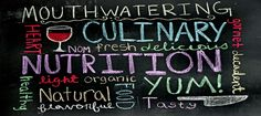 We meet to talk about nutrition and health and about the labels on our food.  By the way, you read them?
