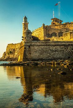 El Morro Fortress and Lighthouse, Cuba; photo by Levin Rodriguez