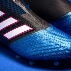 online retailer decd1 b38a9 adidas ACE 17+ Purecontrol FG - Core Black White Blue. Zapatos De ...