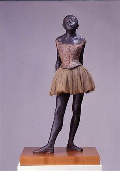 Skulptur im Neuen Albertinum Dresden: Edgar Degas, Vierzehnjährige Tänzerin, ca. 1880