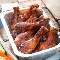 All-American Barbecue Chicken from bhg.com | don't these look fantastic...awesome for outdoor summer entertaining!