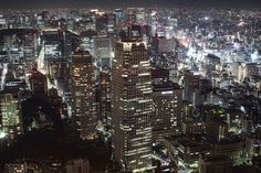 Tokyo in the night