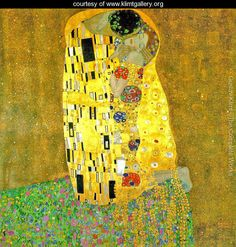 The Kiss (1907-08) by Gustav Klimt