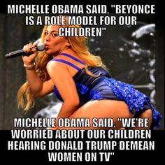 Oh Please! Hypocrisy at its best, per Michelle Obama.