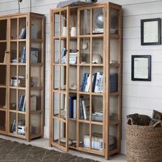 Bibliotheque vitrée