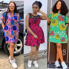 2019 Creative Ankara Gown Styles for Beautiful Ladies - Naija's Daily Short African Dresses, Ankara Short Gown, Ankara Dress Styles, Trendy Ankara Styles, Short Gowns, Ankara Gowns, African Print Dresses, African Fashion Ankara, Latest African Fashion Dresses