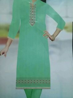 Embroidered kurti for summer at a very good price