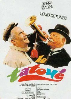 Le Tatoué est un film comique franco-italien réalisé par Denys de La Patellière, sorti en 1968. Antiquaire enrichi dans le commerce des peintures naïves, Félicien Mezeray rencontre chez le peintre Dubois, un ancien légionnaire du nom de Legrain, venu se faire portraiturer, et qui porte tatoué sur le dos un authentique Modigliani, peint le 14 juillet 1919, au Café du Dôme.