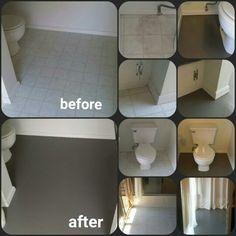 Paint vinal lenolium floors