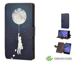 Artist Designed Sony Xperia Z3 Compact wallet door CreateandCase