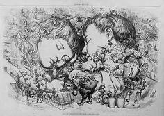 Thomas Nast Christmas illustrations