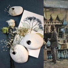 Et c'est ainsi que de père en fils, dans la famille d'Ali-baba on se transmet le secret de ce fabuleux trésor, grâce auquel lui et ses descendants vécurent dans la luxe et la splendeur. #pasbesoindetravailler #herbier #hanoul #menthe #cumin #alibabaetlesquarantevoleurs #cannelle #tanin #souk #lesmilleetunenuits #ceramics #porcelain #handmade #creditphotomarieroura #myriamaitamarceramics  Myriam Ait Amar Ceramics  Photo : Marie Roura