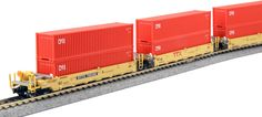 Starter Sets and Packs 22547: Kato 1066193 N N Gunderson Maxi-I Double Stack Car Ttx New Logo - 5-Unit Well -> BUY IT NOW ONLY: $129.99 on eBay!