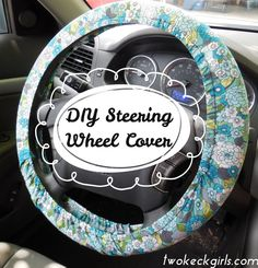 Diy guide - but use black and pink floral fabric Sewing Hacks, Sewing Tutorials, Sewing Crafts, Sewing Projects, Sewing Patterns, Diy Projects, Sewing Ideas, Diy Seat Covers, Car Accessories Diy