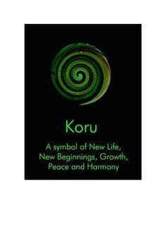 New Zealand Koru New Beginnings - - new, card, koru, symbol, life… Maori Tattoos, Hawaiianisches Tattoo, Tattoo Son, Filipino Tattoos, Irezumi Tattoos, Tattoo Motive, Body Art Tattoos, Tatoos, Indian Tattoos