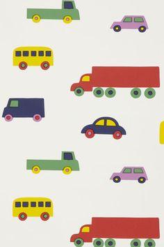 Cars childrens wallpaper