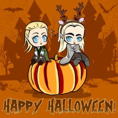 Cute Chibi Legolas | pumpkin ring | Tumblr