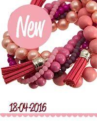 Nieuw bij Kralenhoekje.nl Diverse kralenpakketten met #Leer, #Kralen en meer voor de mooiste #sieraden !