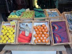 Closed merchandising. fashion-as-food trend window-displays-visual-merchandising-ideas