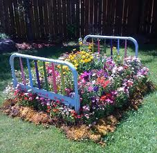 Actual Flower Bed - Sisters, OR