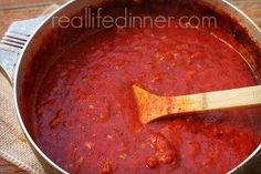 This is the most Amazing Spaghetti Sauce. I can't get over it . FAN-FREAKING-TASTIC Recipe. You'll never make another sauce recipe in your life!