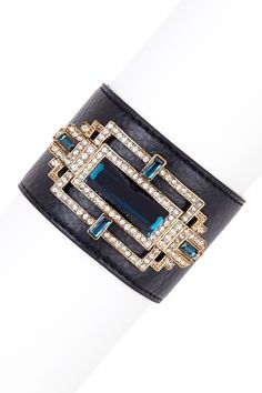 Black Embellished Cuff