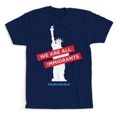 """""""No Ban No Wall"""" PTP T-Shirt"""