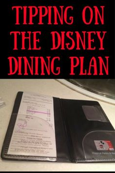 7 things you must know about tipping while using the Disney Dining Plan.