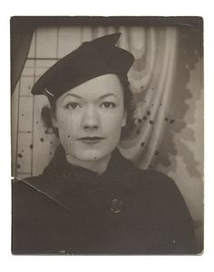 Photobooth Portrait of a Woman, ca 1935 by The Henry Ford, via Flickr