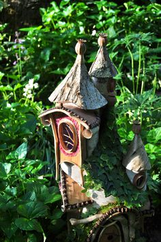 Faerie Houses ~ Greenspirit Arts